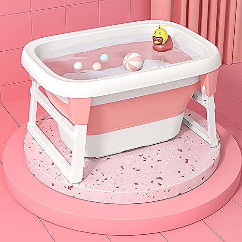 Bañera Plegable De Bebé, Sentado, Acostado Y Nadando Bañe
