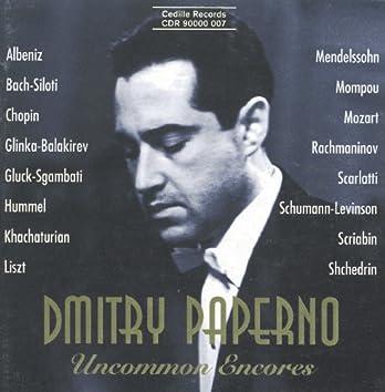 Paperno, Dmitry: Uncommon Encores