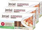 Jovial Manicotti Gluten-Free Pasta | Whole Grain Brown Rice Manicotti Pasta | Non-GMO | Lower Carb | Kosher | USDA Certified Organic | Made in Italy | 7 oz (3 Pack)