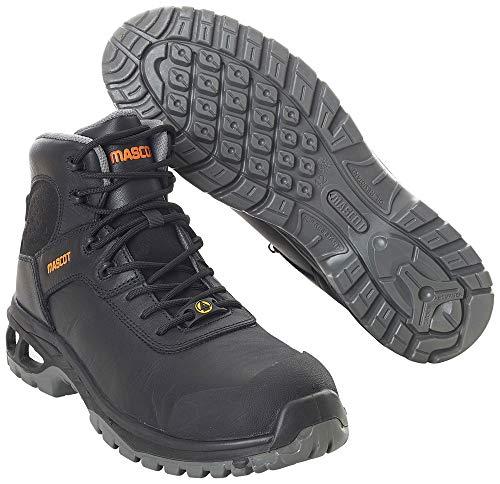 Mascot Sicherheitsstiefel S3 Arbeitsschuhe F0135-902 - Footwear Energy Herren 46 EU Schwarz