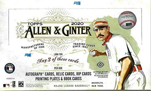 2020 Topps Allen & Ginter MLB Baseball HOBBY box (24 pks/bx)