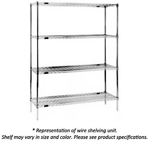 """discount Eagle wholesale Foodservice 1848VG 48"""" L x 18"""" high quality W Wire Shelf outlet online sale"""