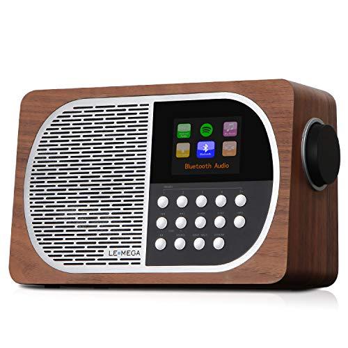 LEMEGA M2+ Internet/FM Digital Radio with Bluetooth,...