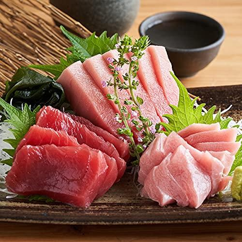築地魚群 天然本マグロ 全部セット(赤身・中トロ・大トロ) 1.5kg 冷凍便
