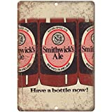 VEHFA Smithwick's Ale Ireland Vintage Beer Ad 8' X 12' Reproduction Metal Sign E