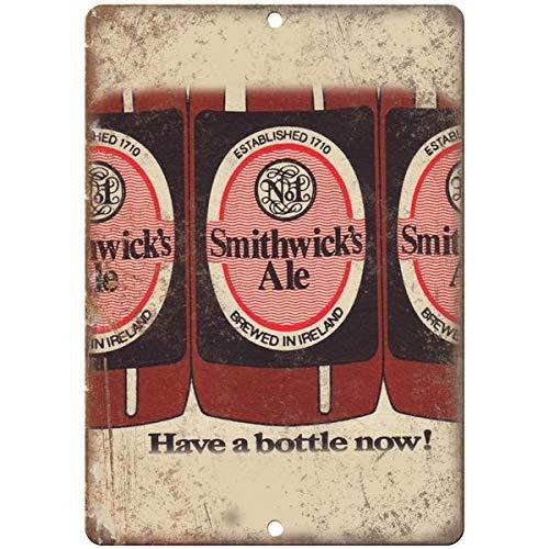 VEHFA Smithwick's Ale Ireland Vintage Beer Ad 8