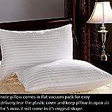 Homescape 5 Star Hotel Soft Fluffy Fiber Filled Bed Pillow(Set of 2)