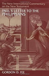 Paul's Letter to the Philippians (New International Commentary on the New Testament) by Gordon D. Fee(1995-07-14)