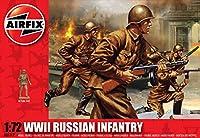 1:72 Airfix WWII Russian Infantry Figure Model Kit