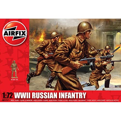 Airfix WWII Russian Infantry 1:72 (A01717)