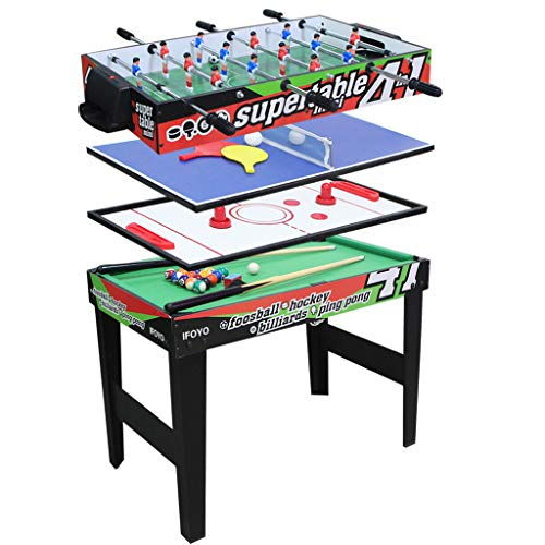IFOYO Multi Function Combo Game Table, Steady 4 in 1 Pool Table for Kids, Hockey Table, Soccer Foosball Table, Table Tennis Table, Ideal for...
