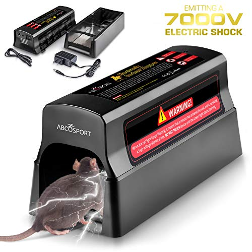 Abco Tech Electronic Humane Rodenticide - Effective Mouse...