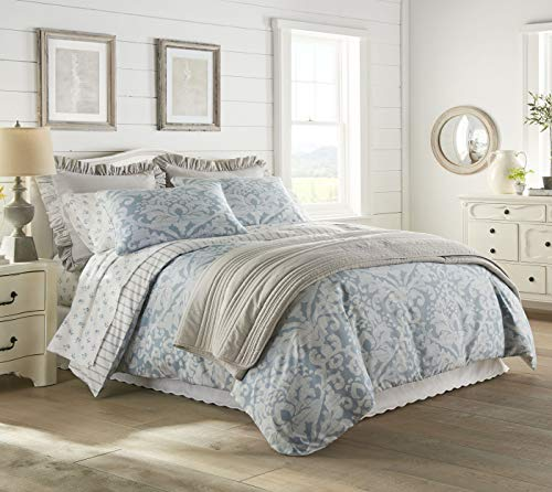 Stone Cottage Comforter Set, King, Camden Blue