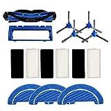Domilay para Accesorios de Aspiradora Robot de Barrido Conga 1090 Cepillo Lateral Cepillo Lateral Cepillo Principal Filtro PaaO de Fregona