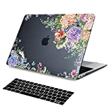 Batianda Dream Catcher Gradient Color Crystal Hard Sleeve Laptop Cover Case for Apple MacBook Pro 15 inch with Retina No Touch Bar (Models: A1398) with Keyboard Cover (Gradient Green)