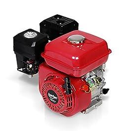 Berlan Moteur à essence thermique 4 temps 6,5 CV moteur pour kart Cylindrée 215 cm³ Diamètre du vilebrequin 19,05 mm