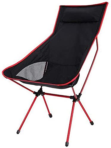 ZAQXSW Chaise de Plage Loisirs en Tissu Oxford Chaise Pliante en Aluminium Tube Aluminium (Couleur   Rouge)