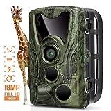 AGM Fotocamera da Caccia 16MP Caccia Fotografica 1080P Telecamera Caccia Macchine Fotografiche da Caccia IP66 Impermeabile Supporta TF Card Fino a 32 GB