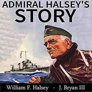 Admiral Halsey's Story audiobook cover art