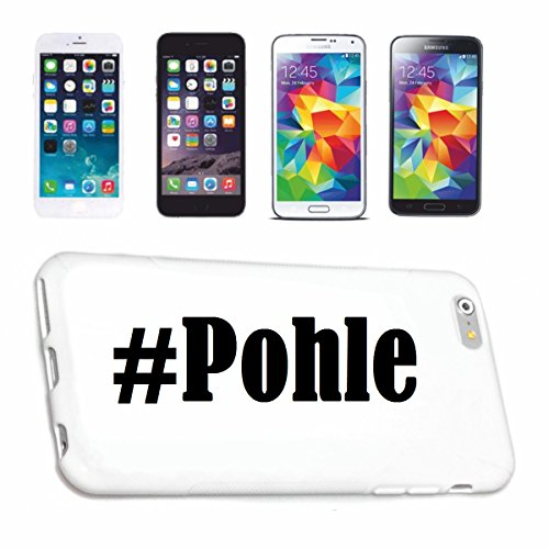 Bandenmarkt telefoonhoes compatibel met iPhone 6+ Plus Hashtag #Pohle in Social Network Design Hardcase beschermhoes mobiele telefoon cover Smart Cover