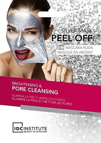 Set di 2 maschere viso argento peel off – illumina la pelle e pulisce i pori
