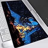Tappetino mouse gaming tappetino mouse xxl Star Wars Gaming Mouse Mat taglia XXL 900x400x3mm scrivania Tastaturmatte Grande Mouse Pad for Computer Desktop PC Laptop, Y. (Color : R)