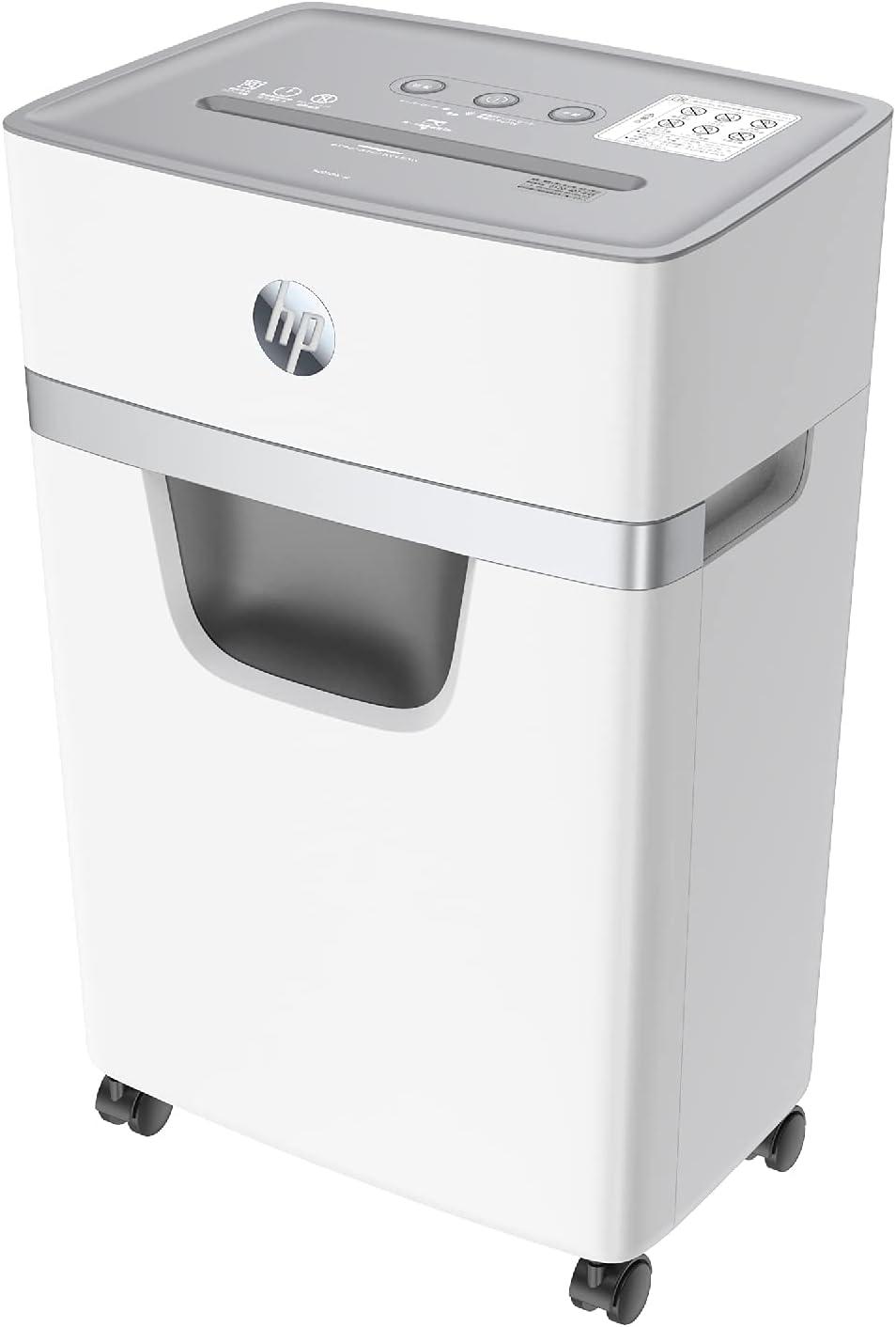 キャスターも付いた!HP 業務兼用シュレッダー W2010MC-J2 ホワイト