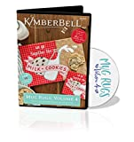 """Kimberbell Mug Rugs Volume 4 Machine Embroidery CD - KD599: Easy Step-By-Step Instructions, 10 Designs, All Designs Made Entirely In 5'x7"""" Hoop, Bonus - 2 Designs Available In 8""""x12"""" Hoop, Made in USA"""