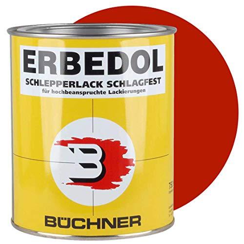 Schlepperlack, PÖTTINGER ROT bis 1982, 750 ml, Traktor, Trecker, Frontlader, lackieren, Farbe, restaurieren, schnelltrocknend, deckend Lack, Lackierung,