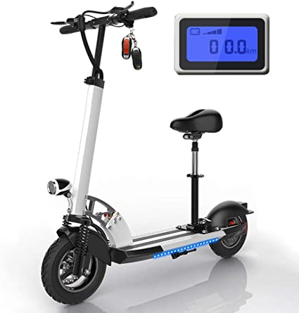 Patinete electrico Adulto con Asiento, Scooter electrico 30 ...