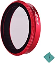 PGYTECH UV Filter Ultraviole Protection Camera Lens Filter Nano Coating with Cleaning Cloth Photography Accessories for DJ...