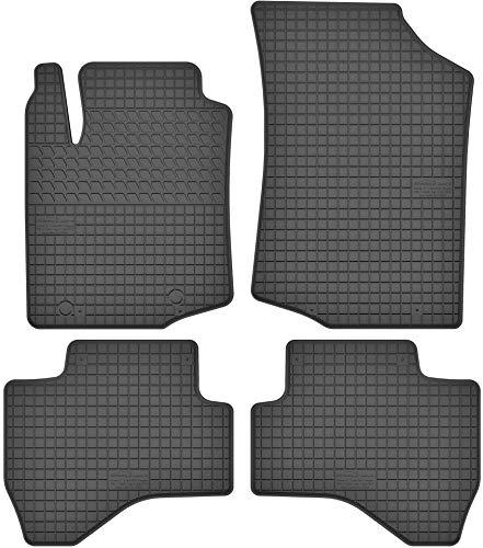 Motohobby Gummimatten Gummi Fußmatten Satz für Citroen C1 II/Peugeot 108 / Toyota Aygo II (ab 2014) - Passgenau