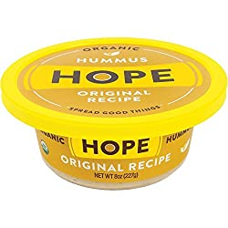Hope Foods, Organic Original Hummus, 8 oz