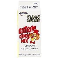 Concession Essentials CE フロス砂糖 りんご 1ct コットン キャンディフロス 砂糖 アップル 高さ4インチ 幅4インチ 長さ9インチ