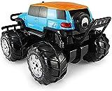 Waqihreu All Terrain Truck Spins Scale Toy para niños Stunt Off Road Vehículo Barco 360 Grados...