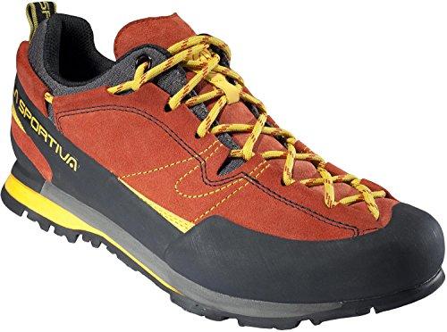 LA SPORTIVA Herren Boulder X Trekking- & Wanderhalbschuhe, Rot (Rot 000), 42 EU