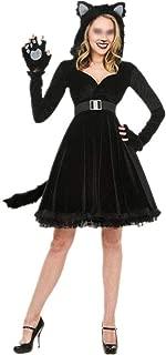 New Halloween Animal Plays Panda Cosplay Sexy Black Dress Uniforms (Color : Black, Size : XL)
