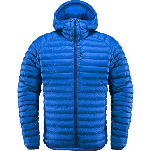 Haglöfs Essens Mimic Hood Chaqueta, Hombre, Tarn Blue Ink, XL