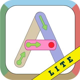 I learn writing capital letters (lite) - Audio, visual & verbal method