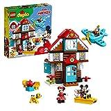 LEGO-DUPLO Disney La maison de vacances de Mickey Fille et Garçon 2 Ans et Plus, 57 Pièces 10889