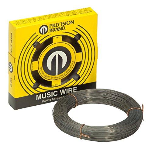 Precision Brand 21031 Music Wire, Steel Alloy, 0.031 in