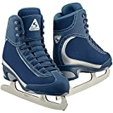 Jackson Ultima Softec Vista ST3200 Figure Ice Skates for Women/Color: Navy, Size: Adult 8