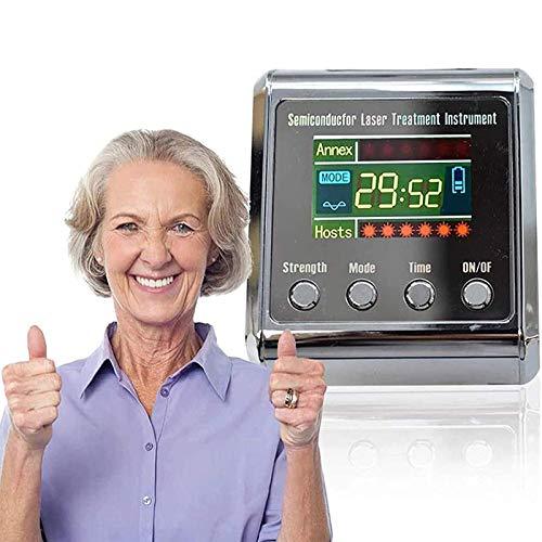 N\C Reloj Pulsera Terapia láser, Control Alto de azúcar en Sangre, rinitis diabética, colesterol, presión Arterial Alta, acupuntura, Instrumento Tratamiento láser semiconductor