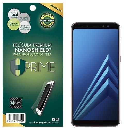 Pelicula HPrime NanoShield para Samsung Galaxy A8 2018, Hprime, Película Protetora de Tela para Celular, Transparente