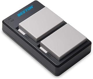 BESTON LP-E8 LPE8 互換 カメラ バッテリー 2個 + USB 急速充電器 キット 対応機種 Canon EOS 550D 600D 650D 700D Rebel T2i T3i T4i T5i Kiss X4 X5 X6 カ...