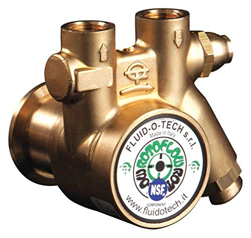 3/8' Brass Rotary Vane Pump, 34 Max. Flow (GPH)