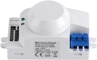 Interruptor de luz inteligente del sensor del radar del detector de movimiento de la microonda de