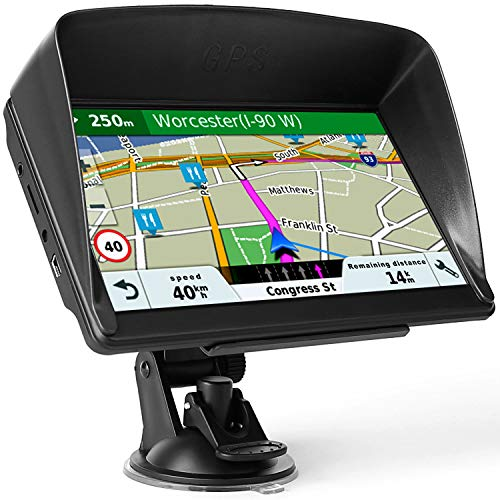 Sat Nav, 7 Inch Navigation for Cars with 2021 UK & EU Maps Edition(Free Lifetime Updates), 8G 256M...