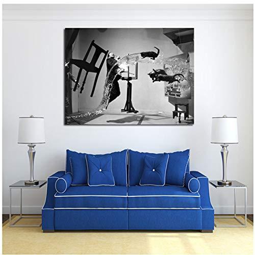 sjkkad Salvador Dali Uli Hessen Ist Pinterest Leinwand Malerei Drucken Wohnzimmer Wohnkultur Moderne Wandkunst Malerei Poster Bilder-60x80 cm Kein Rahmen