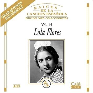 Raíces de la Canción Española, Vol. 15